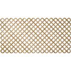 Real Wood Products 4 Ft. W. x 8 Ft. L. x 1/2 In. Thick Natural Cedar Lattice Panel Image 1