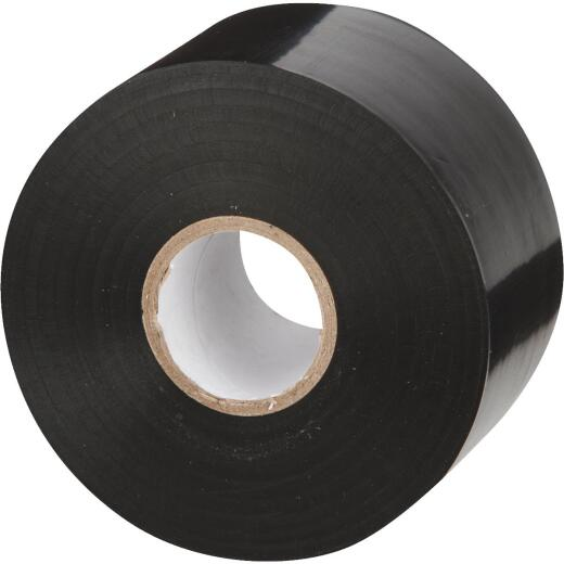 AgriDrain 2 In. x 108 Ft. Sticky Tape Black Corrugated Pipe Sealant