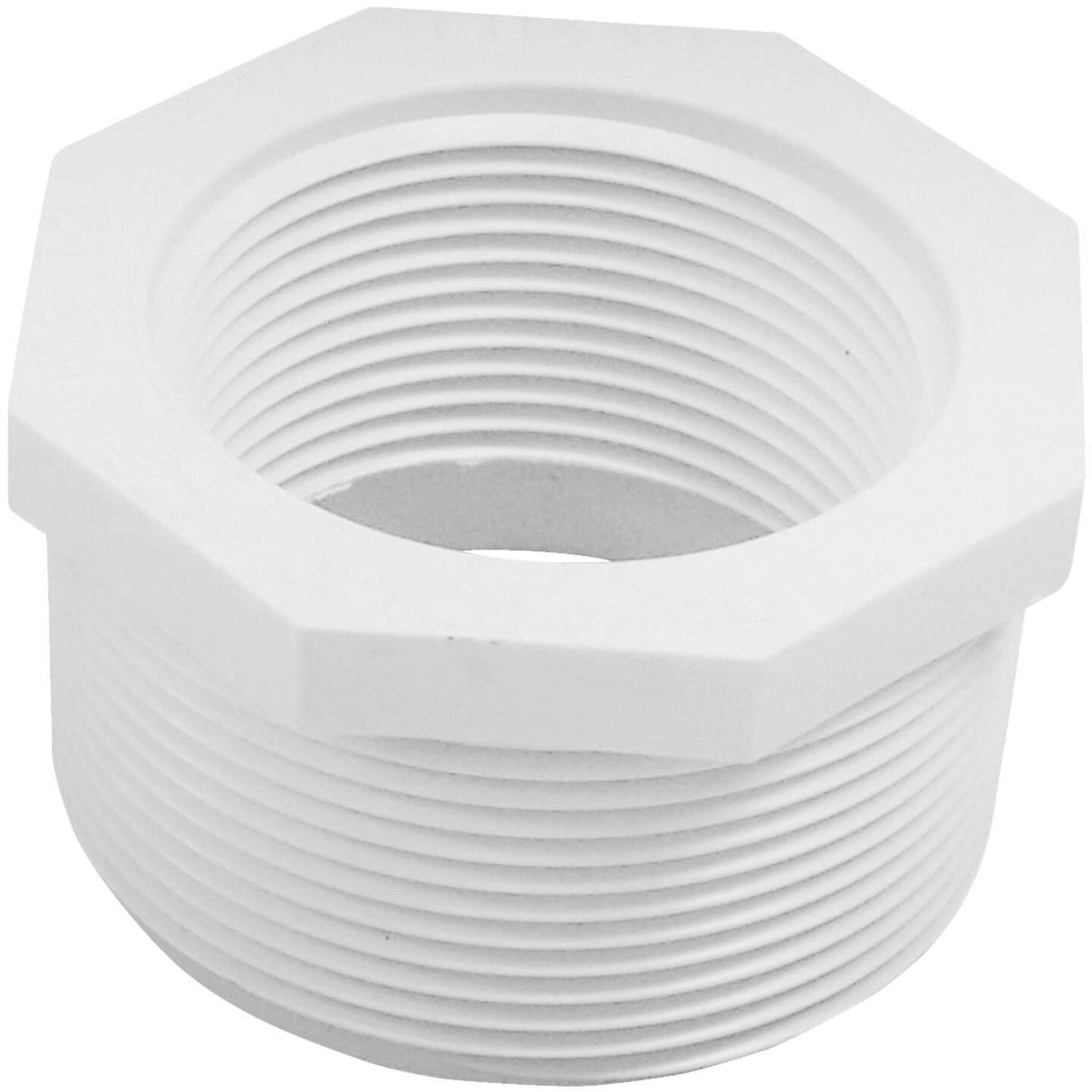 Charlotte Pipe 2 In. MPT x 1-1/2 In. FPT Schedule 40 PVC Bushing Image 1