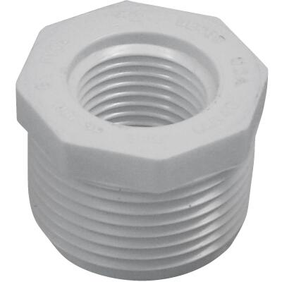 Charlotte Pipe 1 In. MPT x 1/2 In. FPT Schedule 40 PVC Bushing