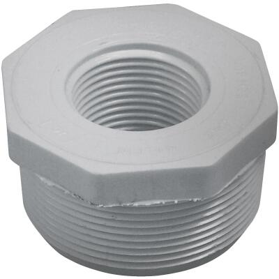 Charlotte Pipe 1-1/2 In. MPT x 1/2 In. FPT Schedule 40 PVC Bushing