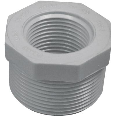 Charlotte Pipe 1-1/2 In. MPT x 1 In. FPT Schedule 40 PVC Bushing