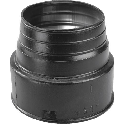 NDS 4 In. PVC Corrugated Adapter