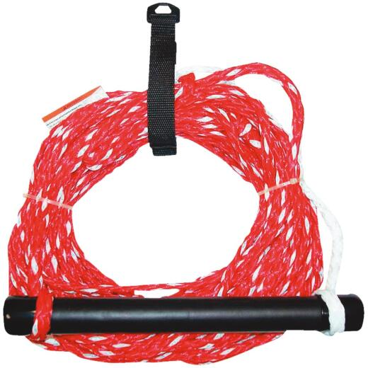 Seachoice 1/4 In. x 75 Ft. 12-Strand Polypropylene Ski Rope