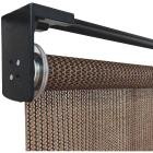 Home Impressions 30 In. x 72 In. Brown Fabric Indoor/Outdoor Cordless Roller Shade Image 2
