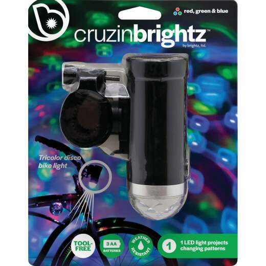 Cruzin Brightz LED Multi-Color Bicycle Light