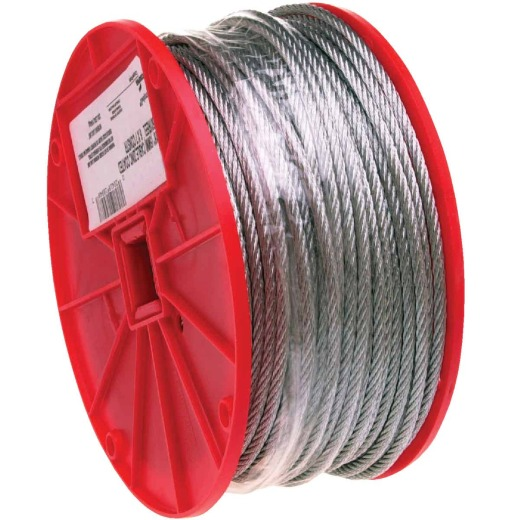 Campbell 1/4 In. x 250 Ft. Galvanized Wire Cable
