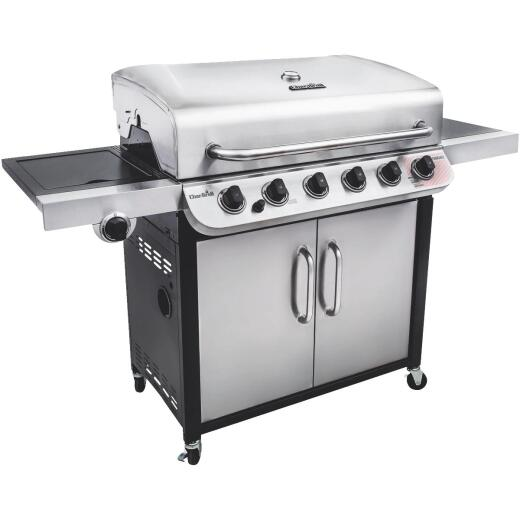 Char-Broil 6-Burner Stainless Steel 60,000-BTU LP Gas Grill