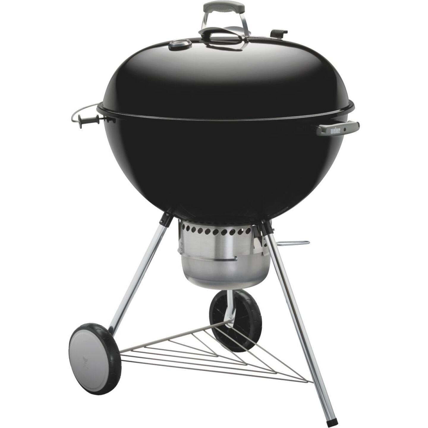 Weber Master-Touch 22 In. Dia. Black Charcoal Grill Image 4