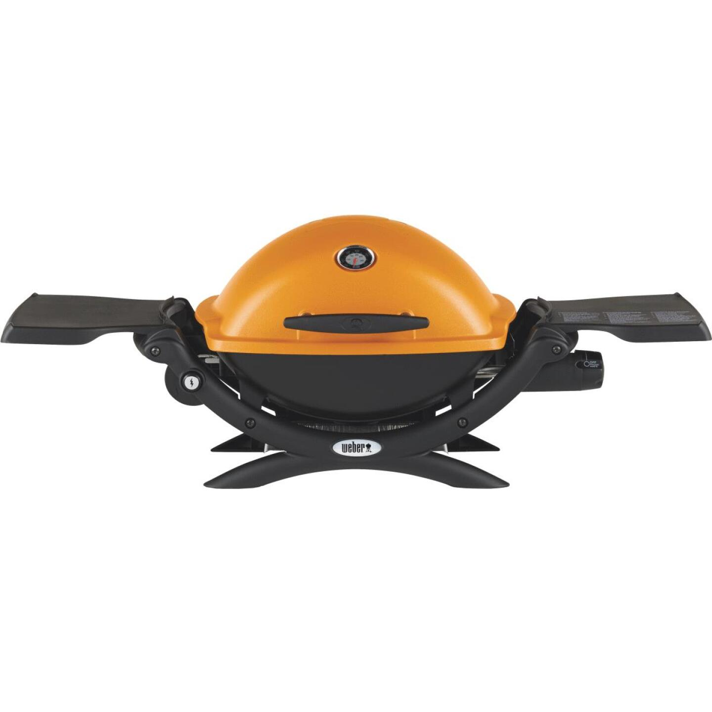Weber Q 1200 1-Burner Orange 8,500-BTU LP Gas Grill Image 5